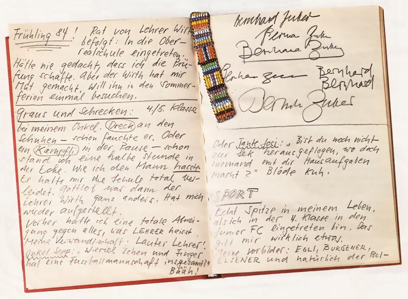Tagebuchschreiben Scratchbook