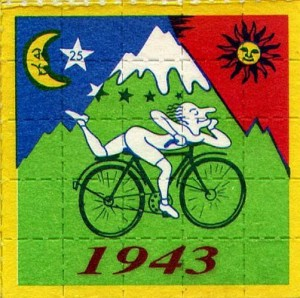 Albert Hofmann bike ride LSD Filz